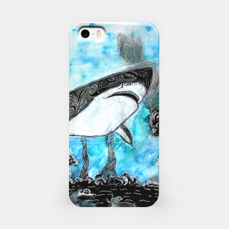 Thumbnail image of Tattooed swimmer iPhone Case, Live Heroes