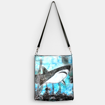 Thumbnail image of Tattooed swimmer Handbag, Live Heroes