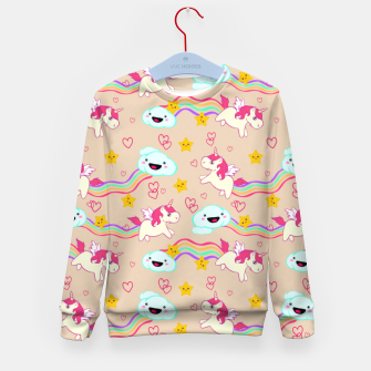 Thumbnail image of Unicorns Kid's Sweater, Live Heroes