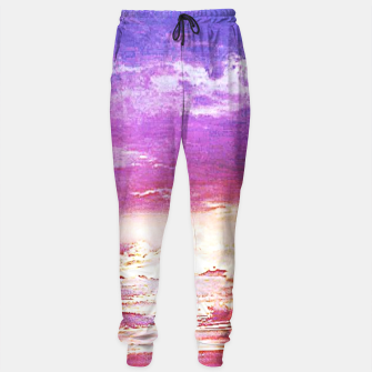 Thumbnail image of Sunset skies Sweatpants, Live Heroes
