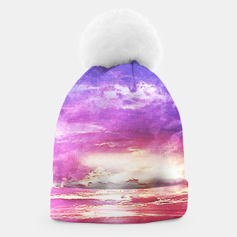 Thumbnail image of Sunset skies Beanie, Live Heroes
