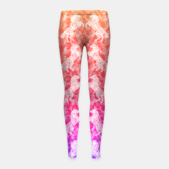 Thumbnail image of hrss Girl's Leggings, Live Heroes