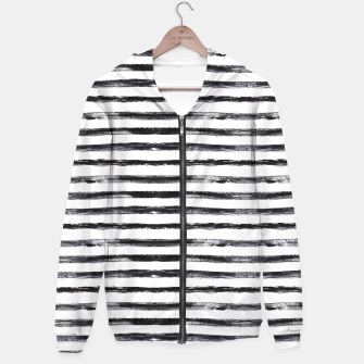 Thumbnail image of Grungy stripes Hoodie, Live Heroes