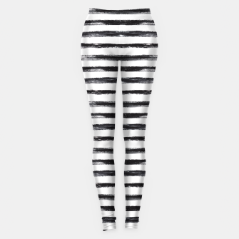 Miniaturka Grungy stripes Leggings, Live Heroes