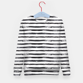 Miniaturka Grungy stripes Kid's Sweater, Live Heroes