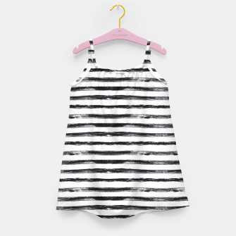 Miniaturka Grungy stripes Girl's Dress, Live Heroes