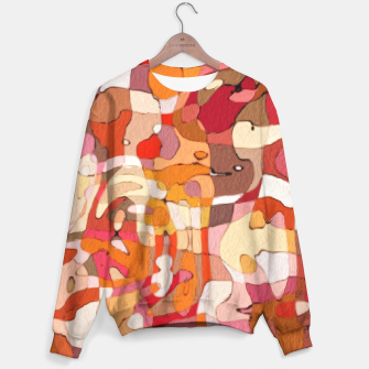 Thumbnail image of Autumn Colors Abstract Painting  Sweater, Live Heroes