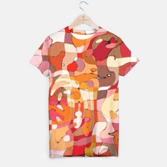 Thumbnail image of Autumn Colors Abstract Painting  T-shirt, Live Heroes