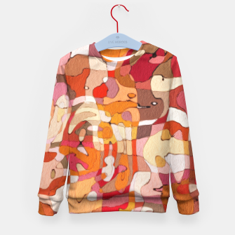 Thumbnail image of Autumn Colors Abstract Painting  Kid's Sweater, Live Heroes