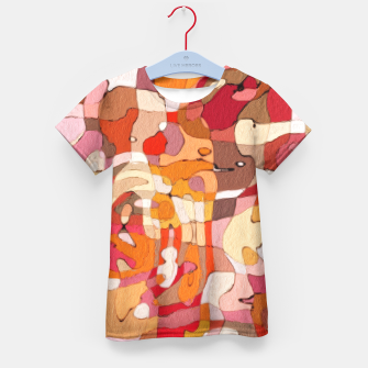 Thumbnail image of Autumn Colors Abstract Painting  Kid's T-shirt, Live Heroes