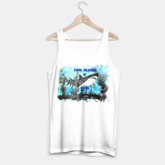 Thumbnail image of Cool shark is cool Tank Top regular, Live Heroes
