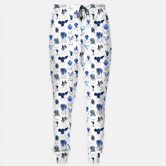 Thumbnail image of Blue cacti Sweatpants, Live Heroes