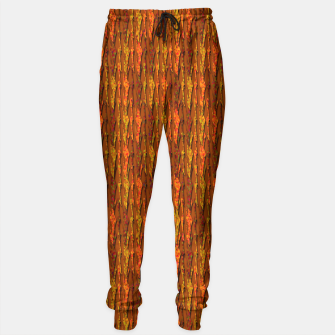 Scales of Fall Colors Abstract Sweatpants thumbnail image