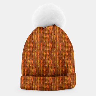 Scales of Fall Colors Abstract Beanie thumbnail image