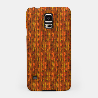 Scales of Fall Colors Abstract Samsung Case thumbnail image