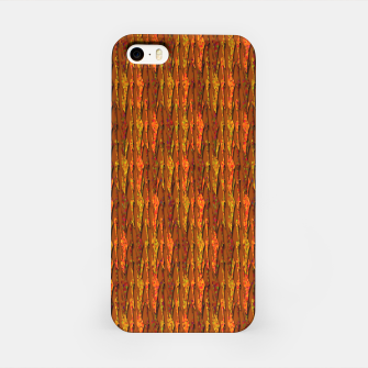 Scales of Fall Colors Abstract iPhone Case thumbnail image
