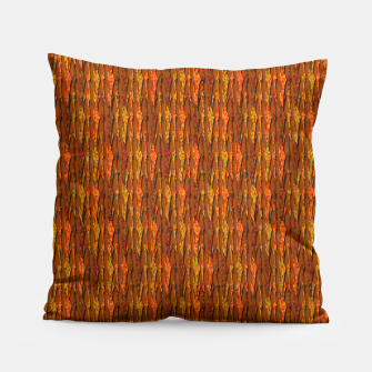 Scales of Fall Colors Abstract Pillow thumbnail image