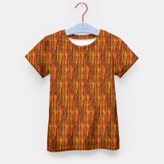 Scales of Fall Colors Abstract Kid's T-shirt thumbnail image