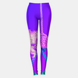 Thumbnail image of Noose on Fire Leggings, Live Heroes