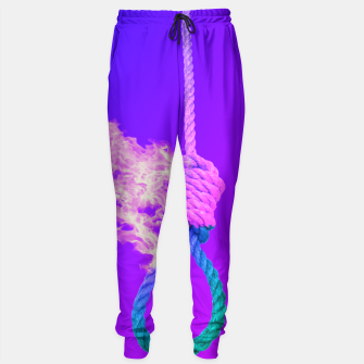 Thumbnail image of Noose on Fire Sweatpants, Live Heroes