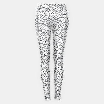 Thumbnail image of Bunch of cats Leggings, Live Heroes