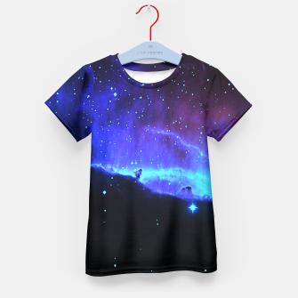Thumbnail image of Nebulae 2 Kid's T-shirt, Live Heroes