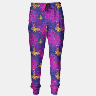 Miniatur East flower Sweatpants, Live Heroes