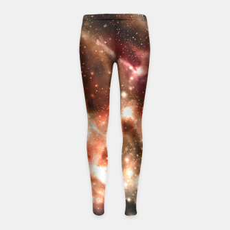 Thumbnail image of Everything I See Girl's Leggings, Live Heroes