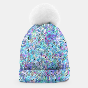 Thumbnail image of Colorful Abstract Painting  Beanie, Live Heroes