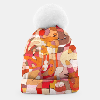 Thumbnail image of Autumn Colors Abstract Painting  Beanie, Live Heroes