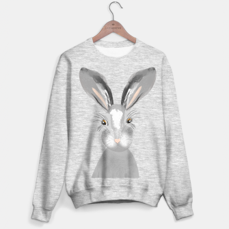 Thumbnail image of Sweet Whimsy Grey Hare Sweater regular, Live Heroes