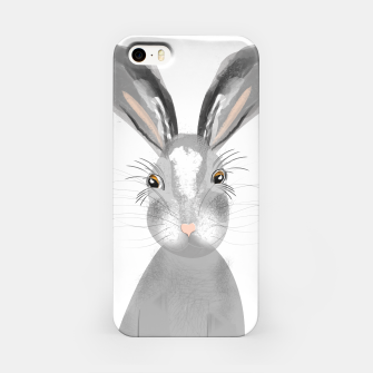 Thumbnail image of Sweet Whimsy Grey Hare iPhone Case, Live Heroes