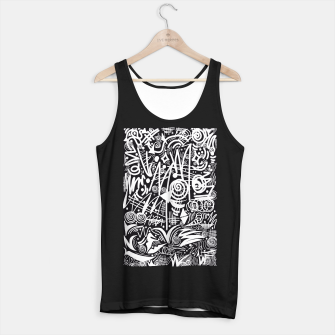 Thumbnail image of Chalk Board! Tank Top regular, Live Heroes