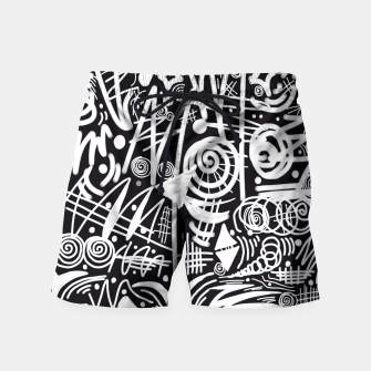 Thumbnail image of Chalk Board! Swim Shorts, Live Heroes