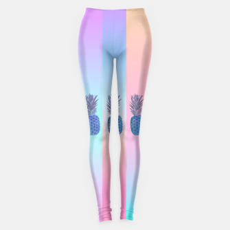 Thumbnail image of Pastel Pineapple III Leggings, Live Heroes