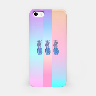 Thumbnail image of Pastel Pineapple III iPhone Case, Live Heroes