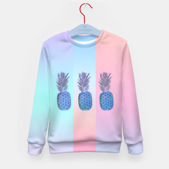 Thumbnail image of Pastel Pineapple III Kid's Sweater, Live Heroes
