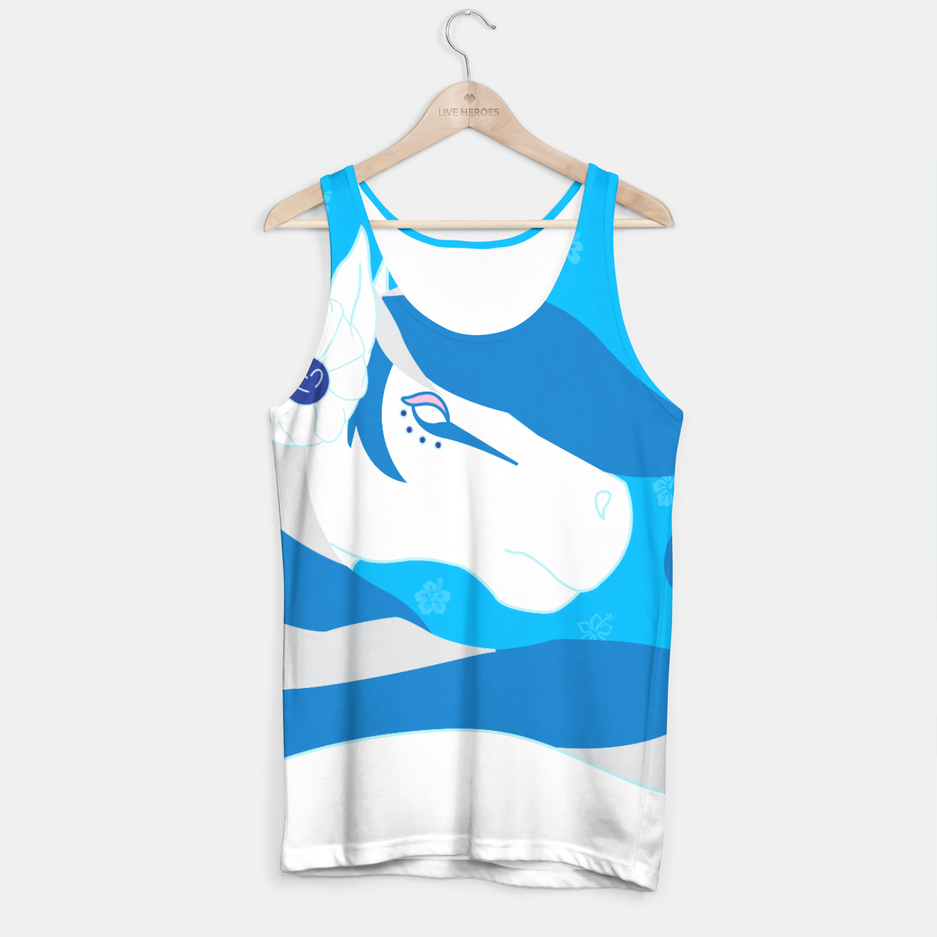 Image of Horse Bride Tank Top - Live Heroes