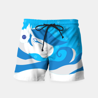 Thumbnail image of Horse Bride Swim Shorts, Live Heroes