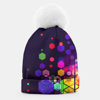 Miniature de image de Monstrously Colorful Elementary Particles 2 Beanie, Live Heroes