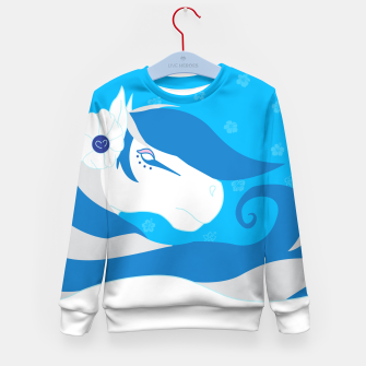 Thumbnail image of Horse Bride Kid's Sweater, Live Heroes