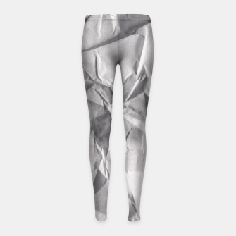 Miniature de image de Non-Iron Man Girl's Leggings, Live Heroes