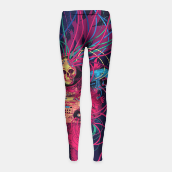 Miniature de image de Sound connection Girl's Leggings, Live Heroes