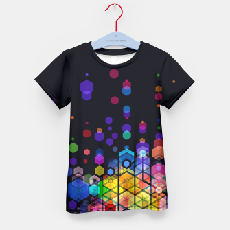 Monstrously Colorful Elementary Particles Kid's T-shirt miniature
