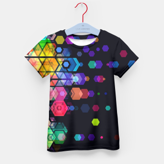 Thumbnail image of Monstrously Colorful Elementary Particles Kid's T-shirt, Live Heroes