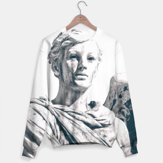 Thumbnail image of Graveyard Angel (White) Sweater, Live Heroes