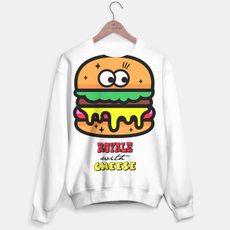 Thumbnail image of Royale with cheese Sweater, Live Heroes