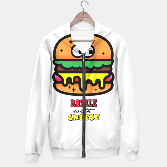Thumbnail image of Royale with cheese Hoodie, Live Heroes