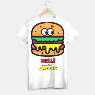 Thumbnail image of Royale with cheese T-shirt, Live Heroes