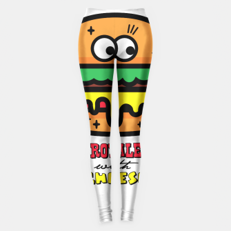 Thumbnail image of Royale with cheese Leggings, Live Heroes